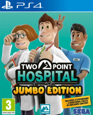 TWO POINT HOSPITAL JUMBO EDITION – PS4