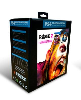 RAGE 2 + AUSCULTADOR PS4