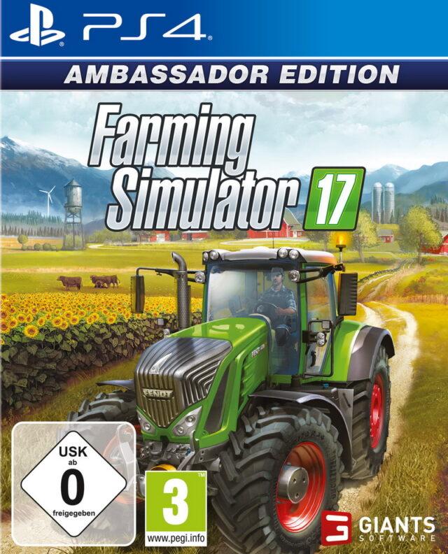 FARMING SIMULATOR 17 AMBASSADOR EDITION PS4