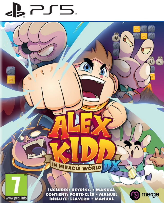 ALEX KIDD IN MIRACLE WORLD DX ps5 5060264375431