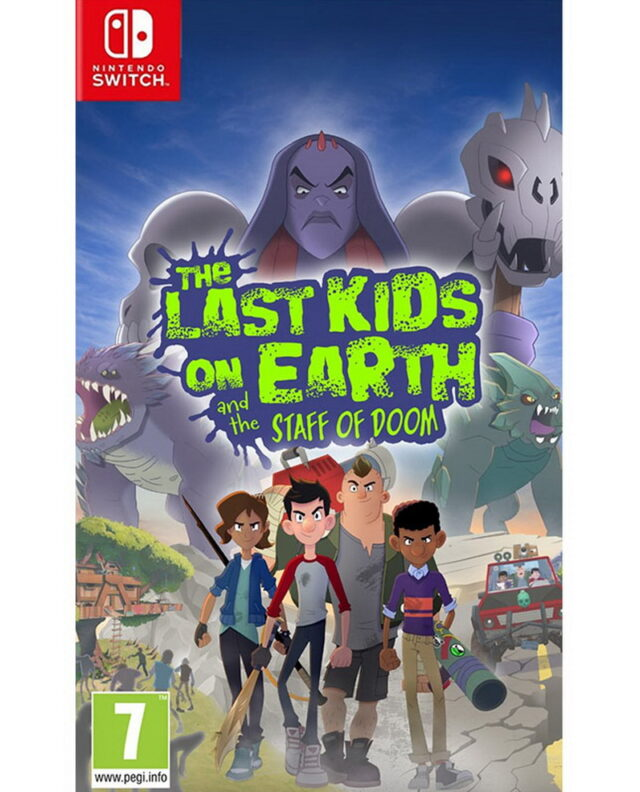 LAST KIDS ON EARTH AND THE STAFF OF DOOM nts