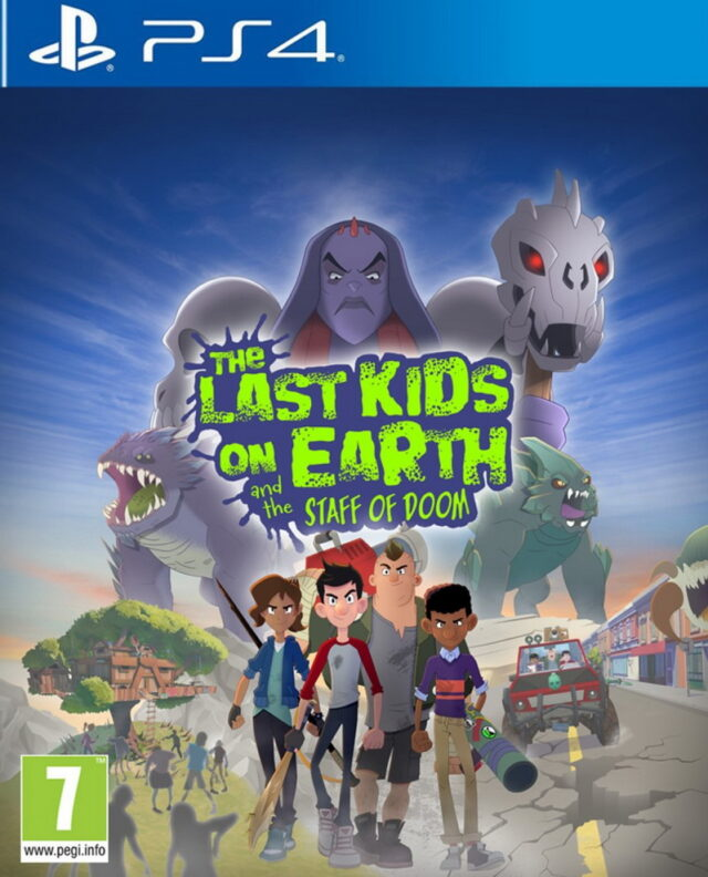 LAST KIDS ON EARTH AND THE STAFF OF DOOM ps4