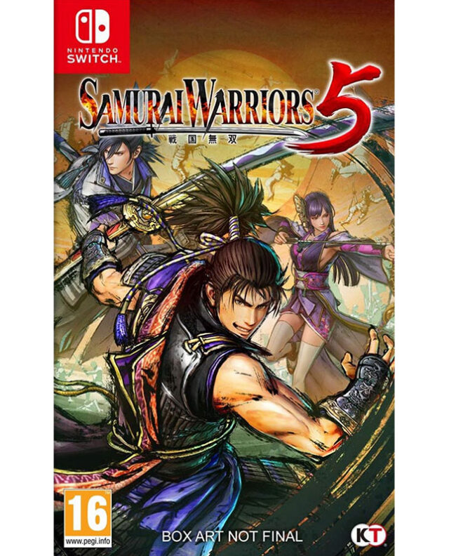SAMURAI WARRIORS 5 nts