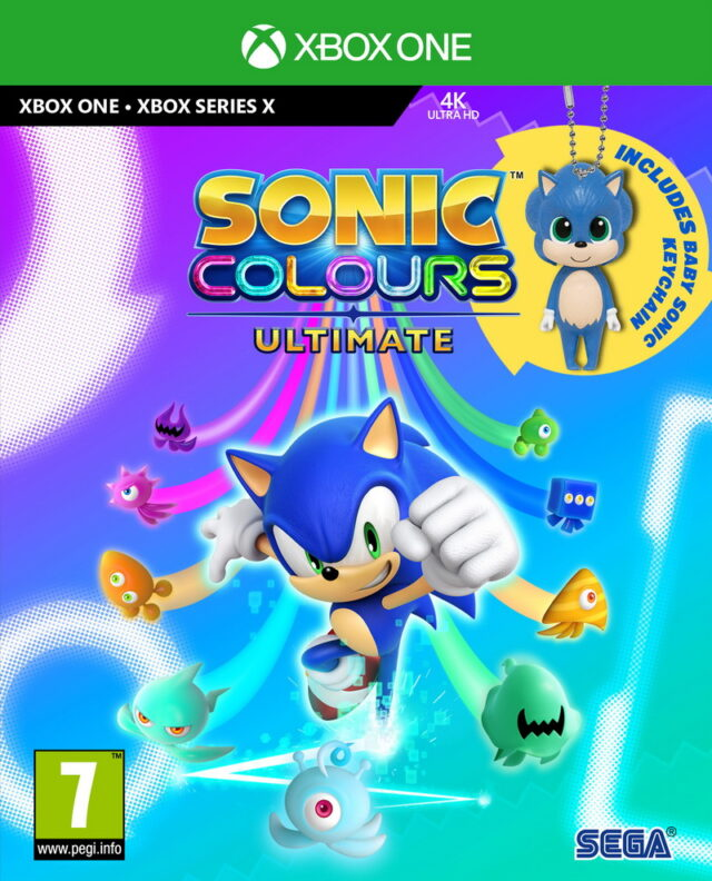 SONIC COLORS ULTIMATE xbx