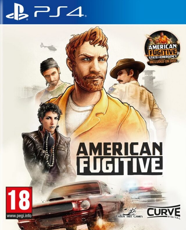 AMERICAN FUGITIVE STATE OF EMERGENCY PS4 5060760883034