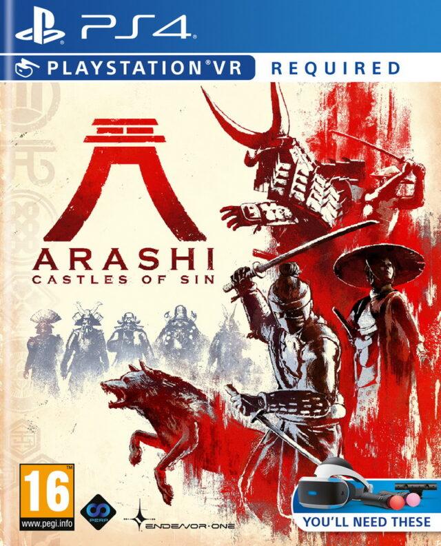 ARASHI CASTLE OF SIN VR PS4 5060522097525