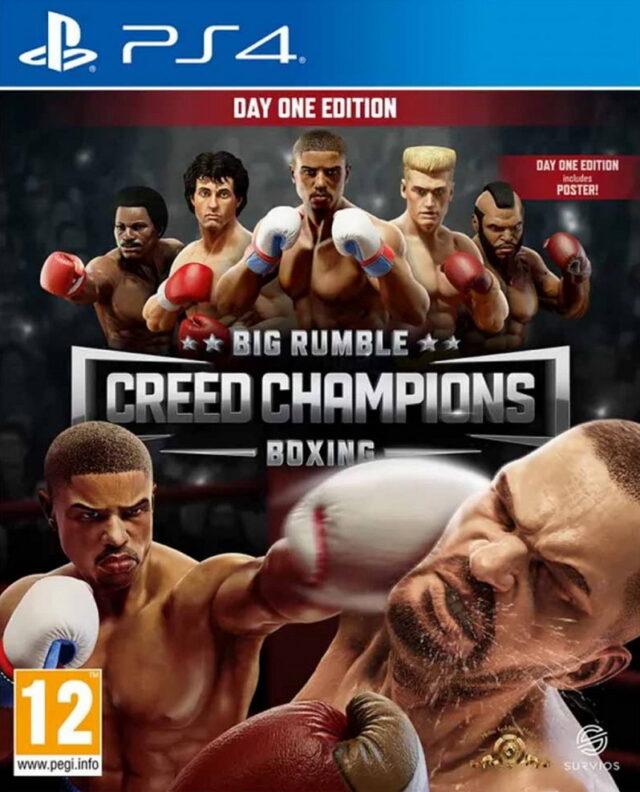 BIG RUMBLE BOXING CREED CHAMPIONS PS4 4020628694814