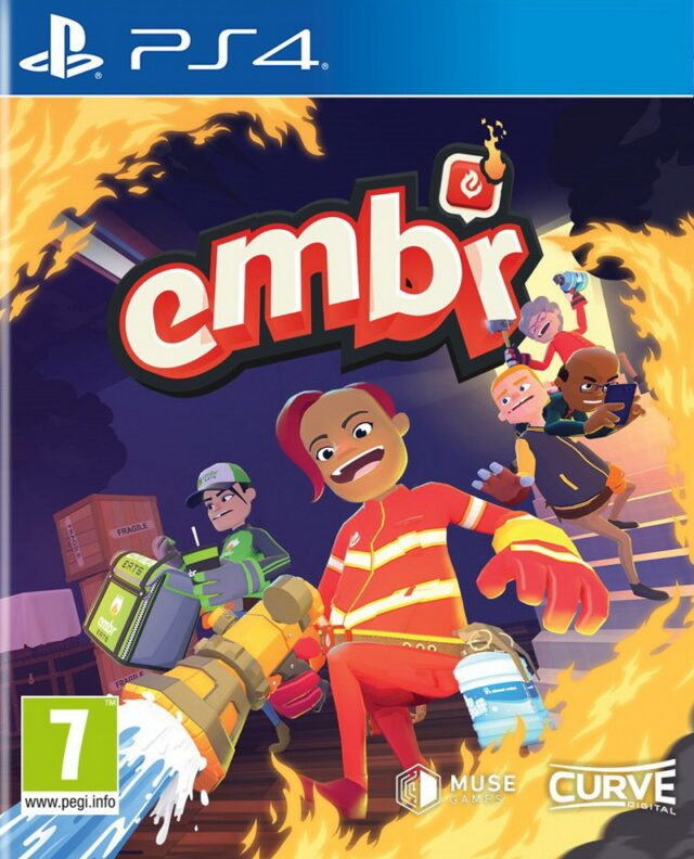 EMBR UBER FIREFIGHTERS PS4 5060760883256