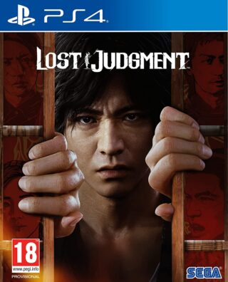 LOST JUDGMENT – PS4