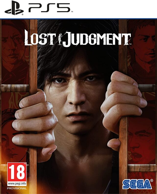 LOST JUDGMENT PS5 5055277044214