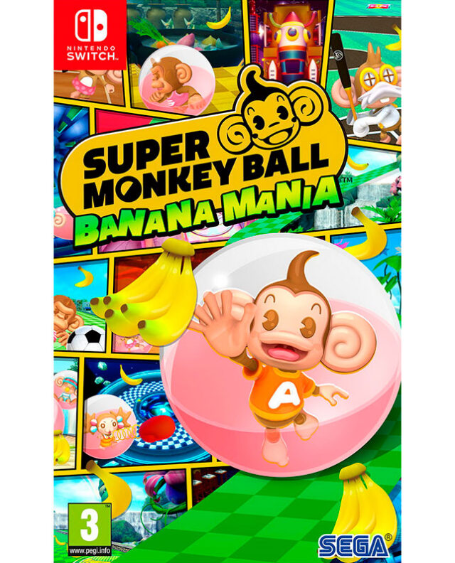 SUPER MONKEY BALL BANANA MANIA Nintendo Switch 5055277045105