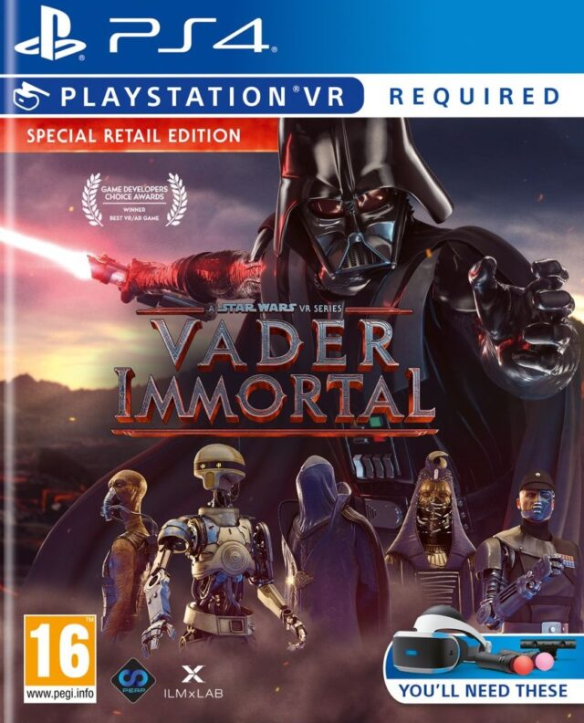 VADER IMMORTAL A STAR WARS VR SERIES PS4 5060522096726