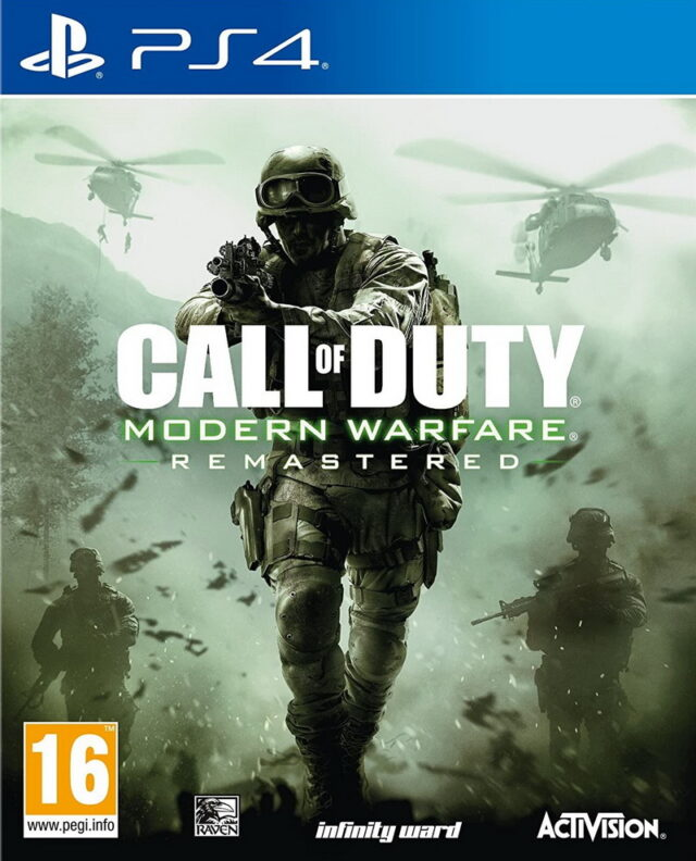 CALL OF DUTY MODERN WARFARE REMASTERED ps4 5030917214677