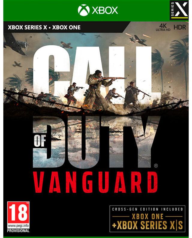 CALL OF DUTY VANGUARD XBX 5030917295638
