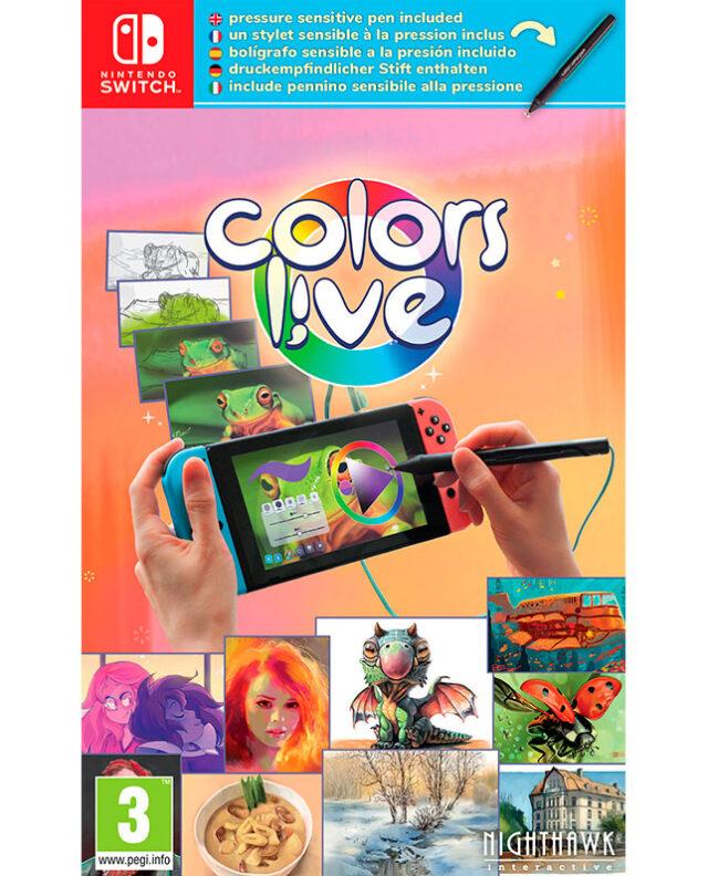 COLORS LIVE! – INCLUI CANETA – Nintendo Switch