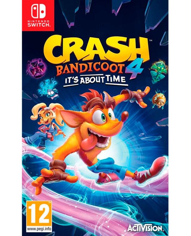 CRASH BANDICOOT 4 IT'S ABOUT TIME – Nintendo Switch