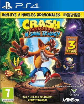 CRASH BANDICOOT N. SANE TRILOGY – PS4