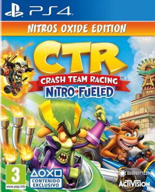 CRASH TEAM RACING NITRO-FUELED ED NITRO – PS4