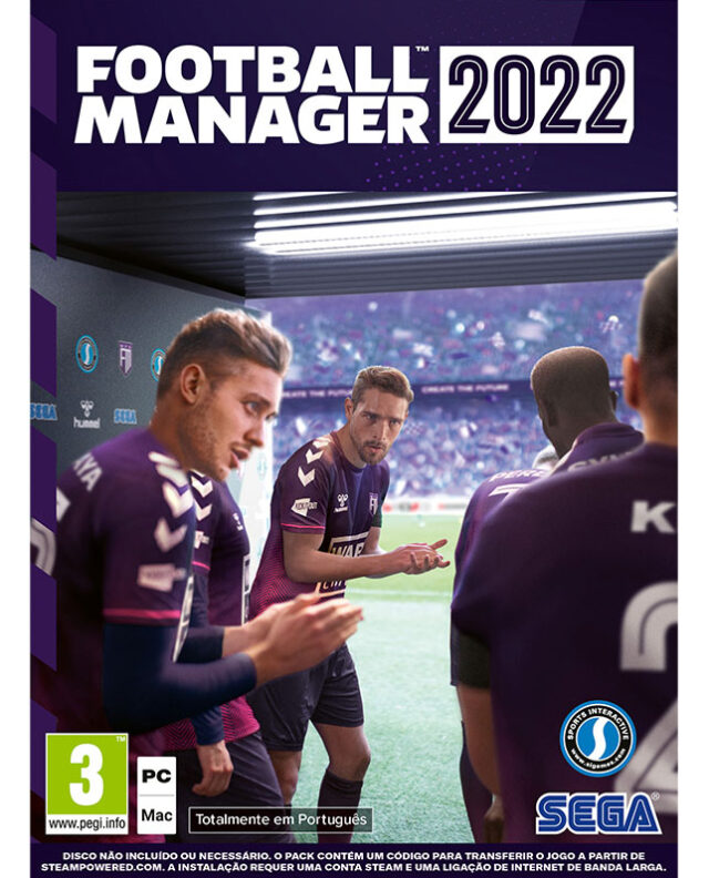 FOOTBALL MANAGER 2022 PC 5055277045341