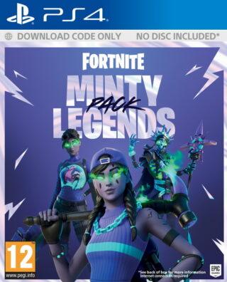FORTNITE MINTY LEGENDS PACK – PS4