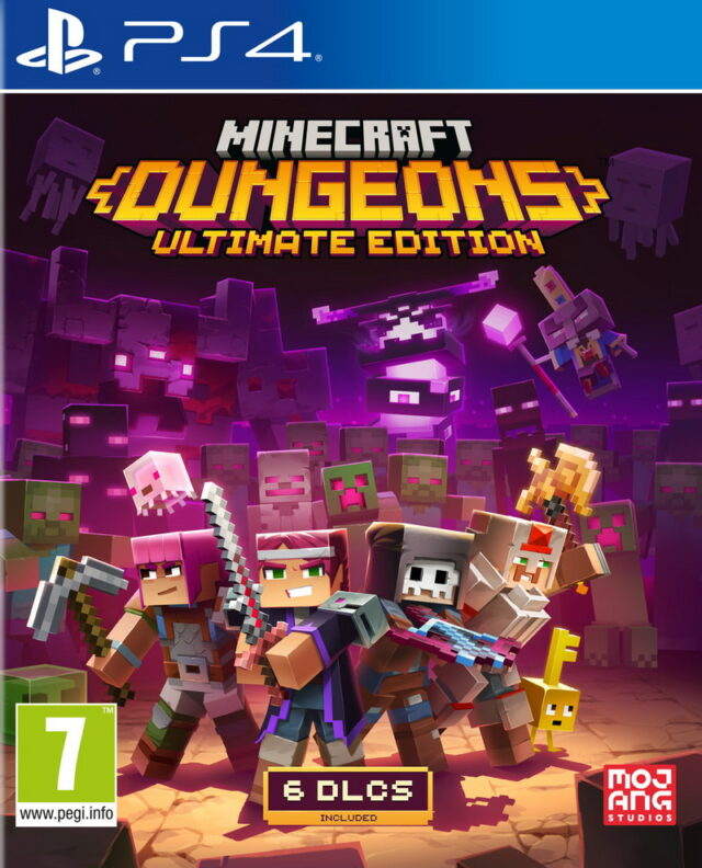 MINECRAFT DUNGEONS ULTIMATE EDITION PS4 5060760884796