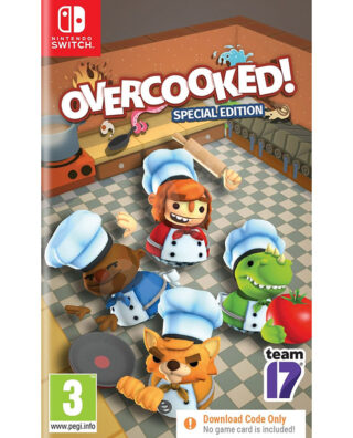 OVERCOOKED SPECIAL EDITION (CIB) – Nintendo Switch