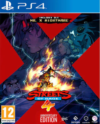 STREETS OF RAGE 4 ANNIVERSARY EDITION – PS4