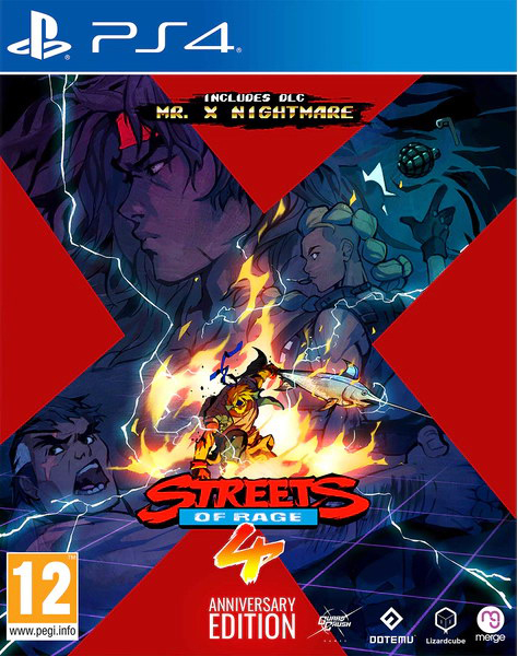 STREETS OF RAGE 4 ANNIVERSARY EDITION PS4 5060264379972