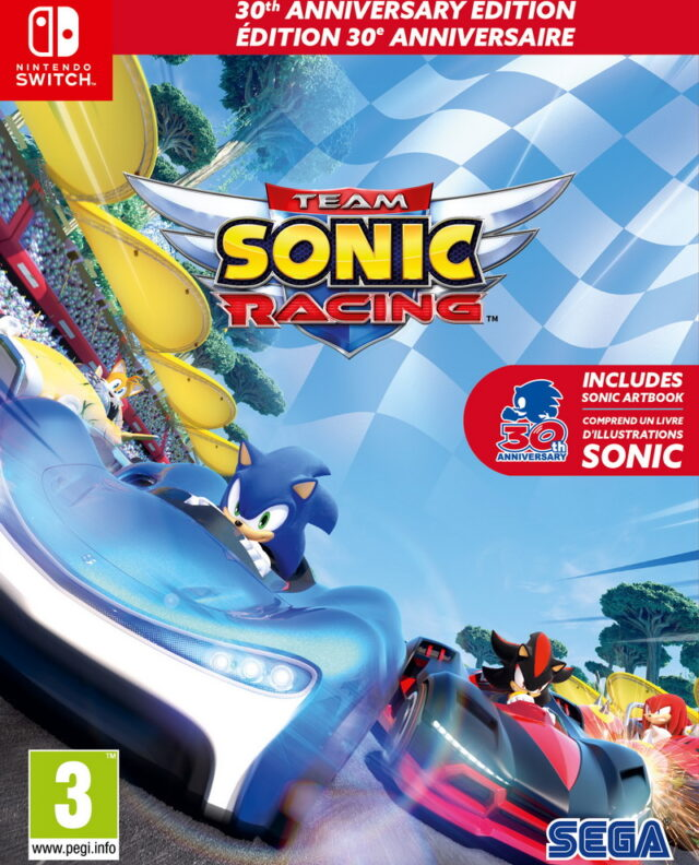 TEAM SONIC RACING SPECIAL EDITION Nintendo Switch 5055277044030