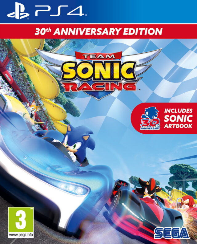 TEAM SONIC RACING SPECIAL EDITION PS4 5055277043903