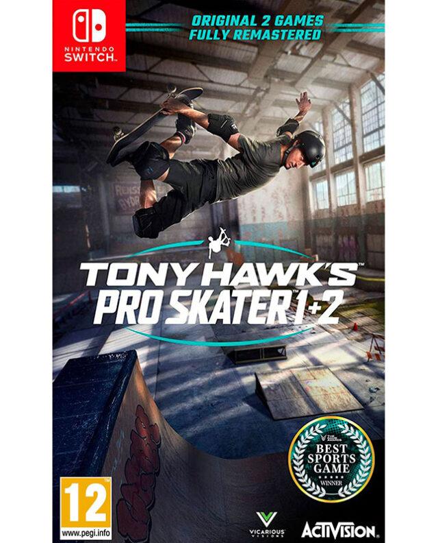 TONY HAWKS PRO SKATER 12 nts 5030917291401