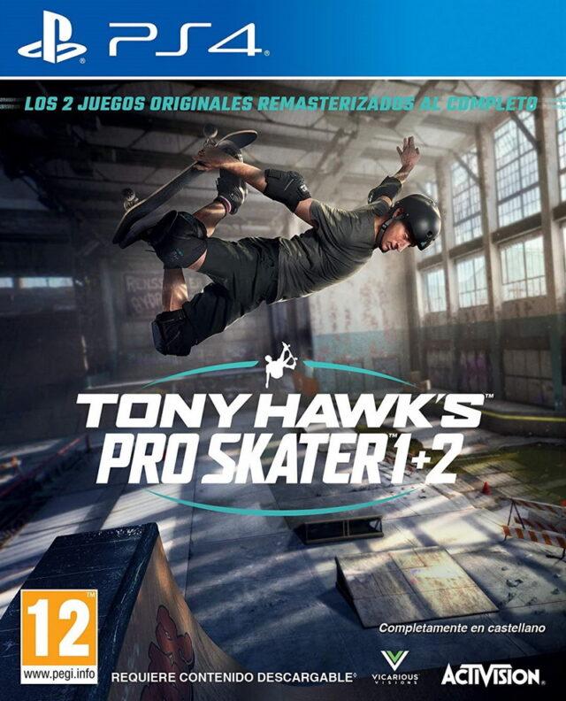 TONY HAWKS PRO SKATER 12 ps4 5030917291203