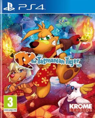 TY THE TASMANIAN TIGER HD – PS4