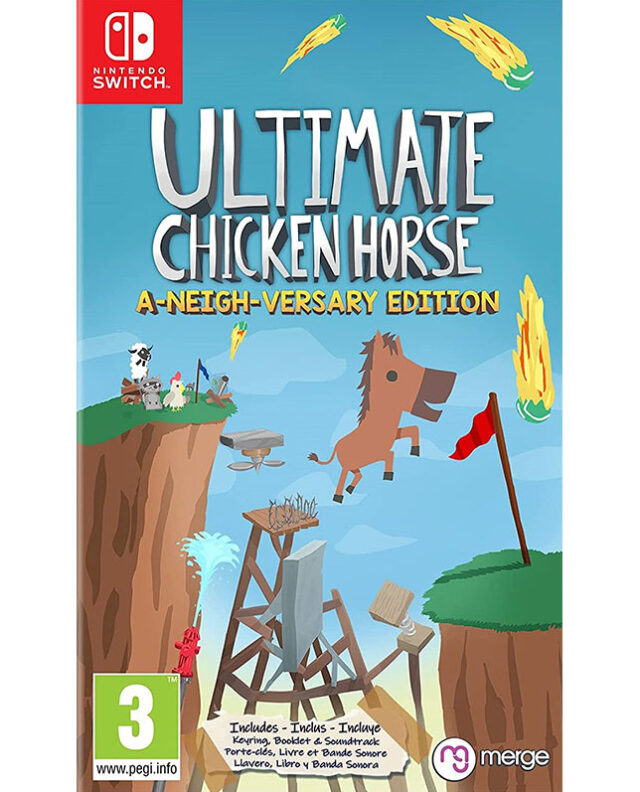 ULTIMATE CHICKEN HORSE A NEIGH VERSARY EDITION Nintendo Switch 5060264376636