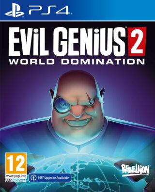 EVIL GENIUS 2 WORLD DOMINATION – PS4