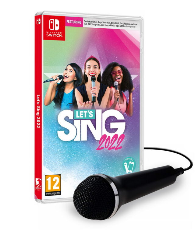 LETS SING 2022 1 MICRO Nintendo Switch 5603625388390