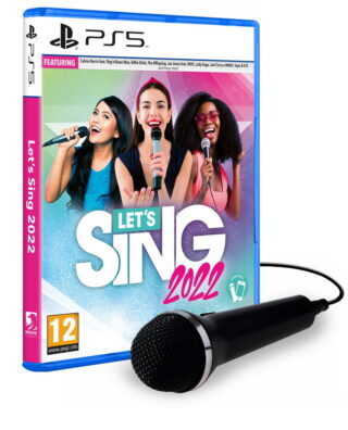 LET'S SING 2022 + 1 MICRO – PS5