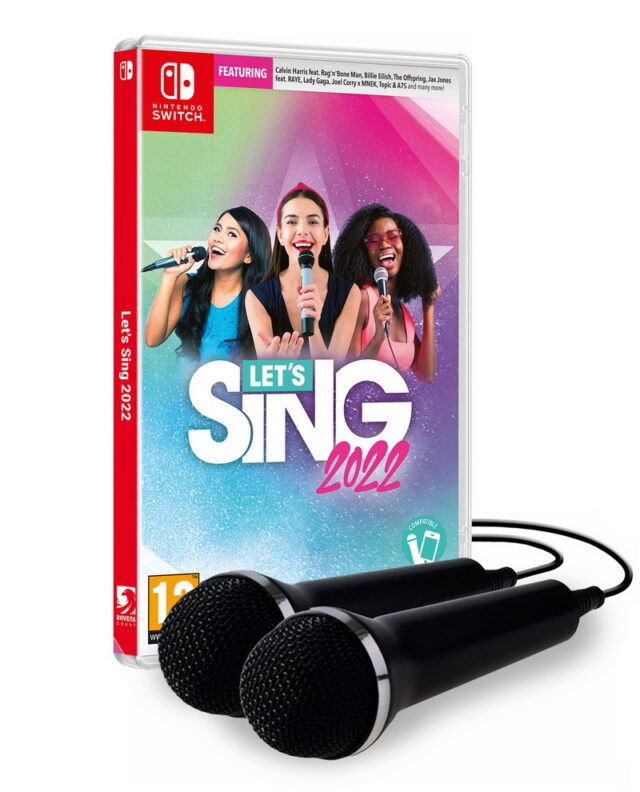 LETS SING 2022 2 MICROS Nintendo Switch 5603625388420