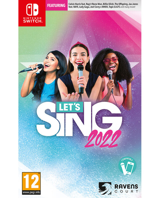 LETS SING 2022 Nintendo Switch 5603625388369